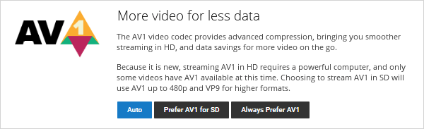 How to enable AV1 on YouTube