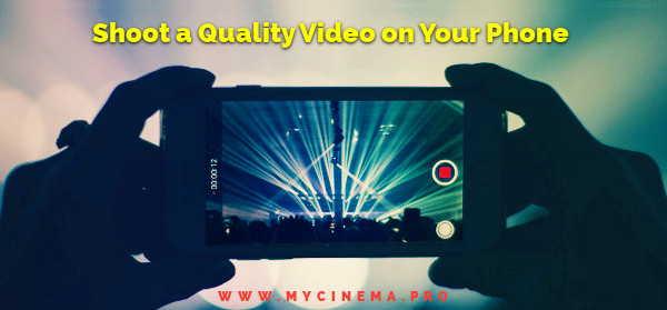 Smartphone Video Making