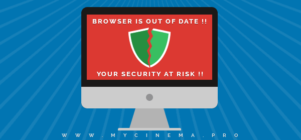 Outdated Browser - Your Security At Risk