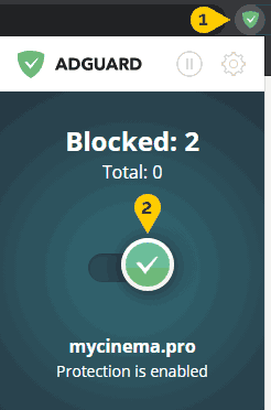 Add to the Whitelist in Adguard